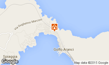 Map Aranci Gulf Apartment 53823
