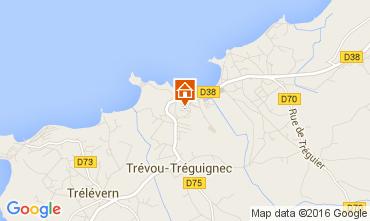 Map Trevou Treguignec Flat 105400