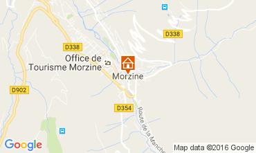 Map Morzine Apartment 49996