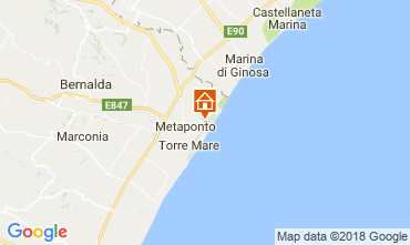 Map Metaponto Apartment 64851