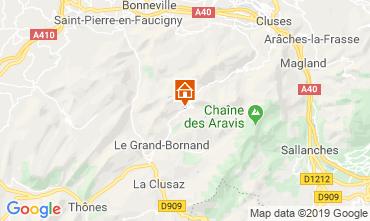 Map Le Grand Bornand Apartment 117644