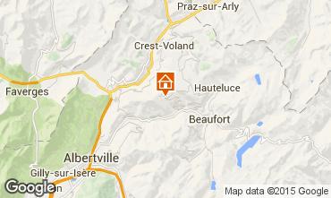 Map Les Saisies Apartment 26237