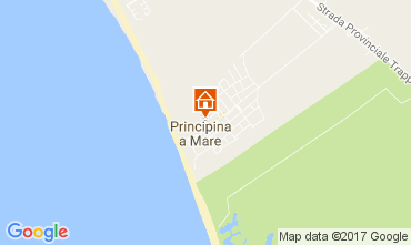 Map Principina a Mare Apartment 108820