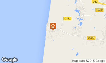 Map Quend Plage Apartment 74562