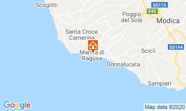 Map Marina di Ragusa Villa 118895