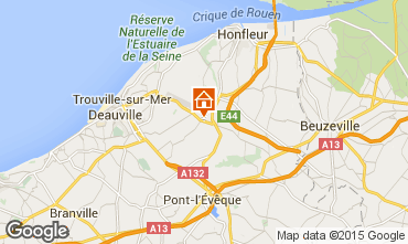 Map Honfleur House 20284