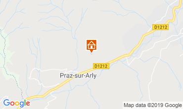 Map Praz sur Arly Chalet 2301