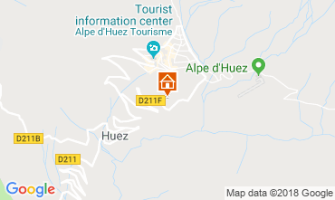 Map Alpe d'Huez Apartment 117471