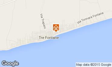 Map Tre Fontane House 49021