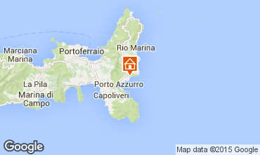 Map Porto Azzurro Apartment 56317