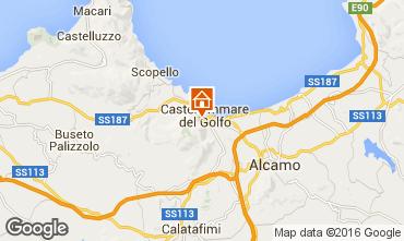 Map Castellammare del Golfo Apartment 95562