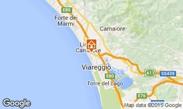 Map Viareggio Apartment 44861