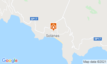 Map Solanas Villa 47978
