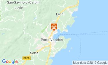 Map Porto Vecchio Villa 117836
