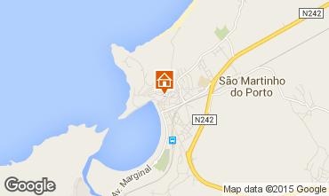 Map São Martinho do Porto Apartment 74218