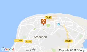 Map Arcachon Apartment 109694