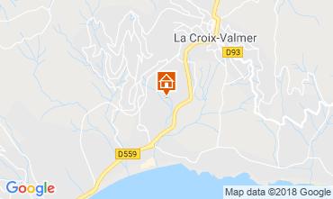 Map Saint Tropez Apartment 84827