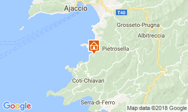 Map Porticcio Villa 114573