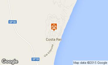 Map Costa Rei Apartment 69514