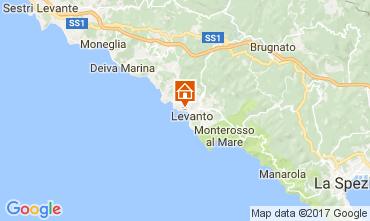Map Levanto Apartment 75601