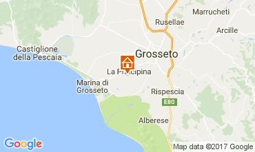 Map Grosseto Apartment 47379