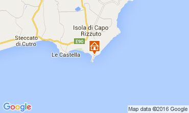 Map Isola di Capo Rizzuto Apartment 81850