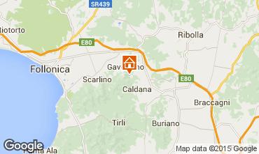 Map Gavorrano Villa 80762