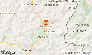 Map Morzine Chalet 1945