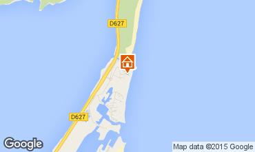 Map Port Leucate Studio apartment 15635