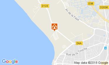 Map Saint-Gilles-Croix-de-Vie Mobile home 22187