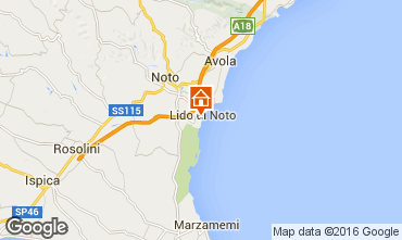 Map Noto Apartment 96552