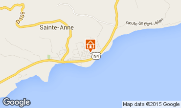 Map Sainte Anne (Guadeloupe) Apartment 66397