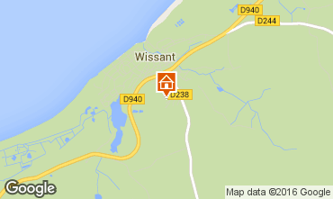 Map Wissant House 102437