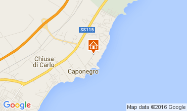 Map Avola Villa 104480