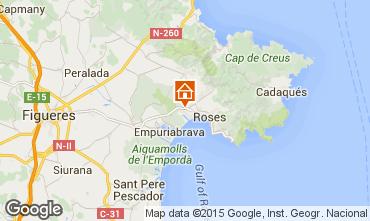Map Rosas House 102192