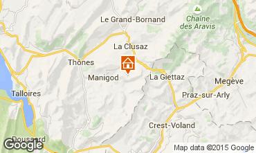 Map Manigod-Croix Fry/L'étale-Merdassier Apartment 17198