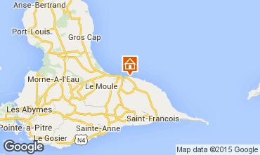 Map Le Moule Apartment 98787
