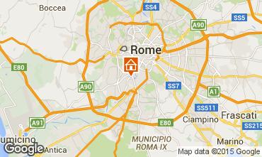 Map Rome Apartment 91428