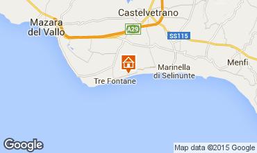 Map Tre Fontane Villa 81041