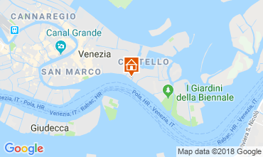 Map Venice Apartment 86011