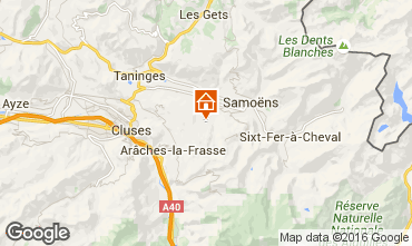 Map Morillon Grand Massif Apartment 102986