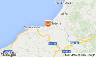 Map Valledoria Apartment 69703