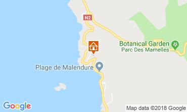 Map Bouillante Self-catering property 29739