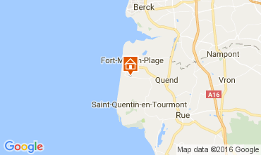 Map Quend Plage Mobile home 80962