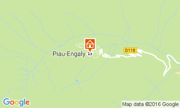 Map Piau Engaly Studio apartment 106410