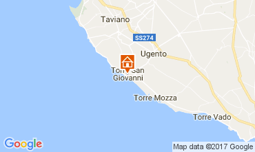 Map Ugento - Torre San Giovanni Apartment 108671