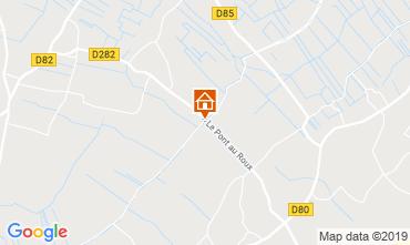 Map Saint Malo Self-catering property 90732