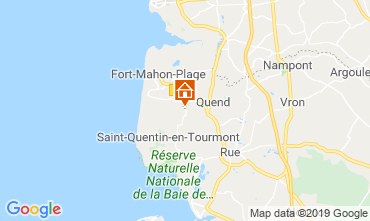 Map Quend Plage Mobile home 112468