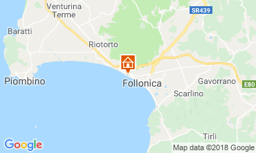 Map Follonica Apartment 116727