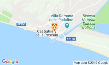 Map Castiglione della Pescaia Apartment 70000
